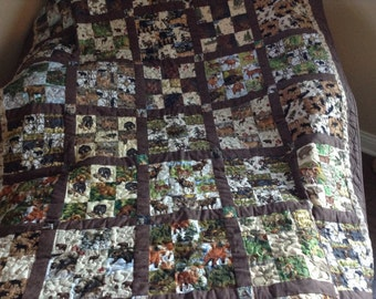North woods quilt #157