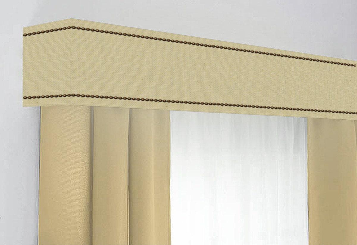 104 Curtains Custom Cornice Board Pelmet Box Window