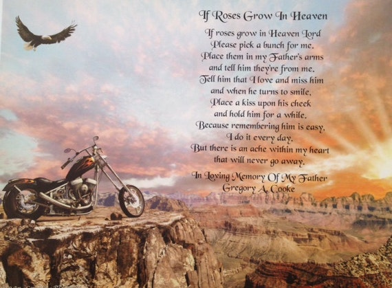 poems about motorcycle riding