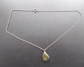 Beautiful Stone Pendant with chain for someone special