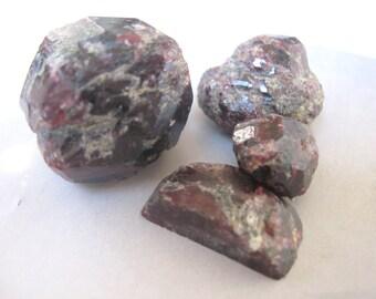 Rough Garnet - Destash Undrilled Stones Craft Assemblage Supply