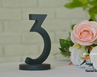 SET 1/20 Table Numbers for Wedding, Wooden Table Numbers, Rustic Wedding, Table Numbers