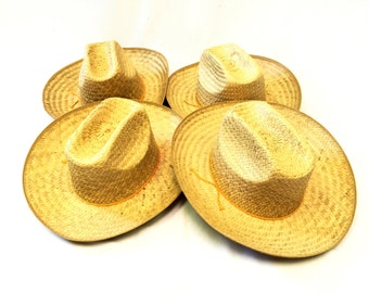 GIDDY-UP!  Four Vintage Cowboy Hats, Mens and Womens Hats