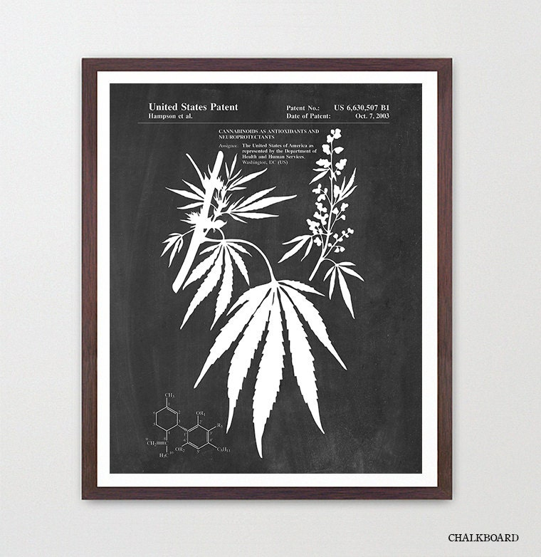 Weed Patent Prints