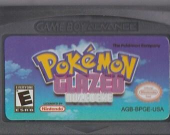 Gameboy Advance Game Boy GBA Pokemon Glazed Customized