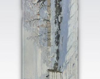 Case for iPhone 8, iPhone 6s,  iPhone 6 Plus,  iPhone 5s,  iPhone SE,  iPhone 5c,  iPhone 7  - The Magpie by Claude Monet