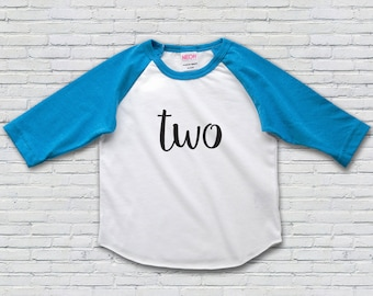 2nd Birthday Shirt, Second Birthday Shirt, 2nd Birthday Girl Oufit, 2nd Birthday Boy Outfit, 2nd Birthday Shirt Boy, Raglan Tee,Baseball Tee