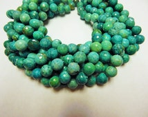 12mm Beautiful Russian Amazonite Faceted Bead Strands.  For jewelry making of necklaces and bracelets.  Sold by the strand.