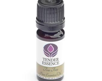 Tea Tree Essential Oil. Aromatherapy 10ml Bottle. Ti Tree