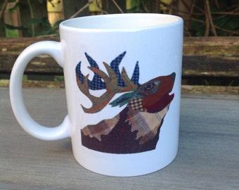 Archie the stag mug