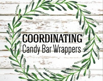 Party Package Add On Candy Bar Wrappers