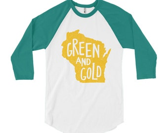 Green Bay Packers Shirt // Green and Gold // Aaron Rodgers // Packers Shirt // Gift For Her // Green Bay // Packers // The Busy Bee
