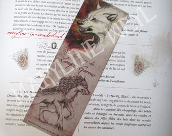 """Bookmark red wolf """"in the footsteps of the werewolves"""