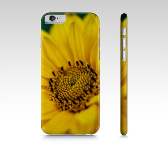 Cell Phone Case, Cell Phone Covers, Macro Photography, Yellow Daisy Art, Flower Photos, iPhone 6 Case, Samsung Galaxy S7 Case