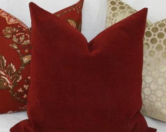 Burgundy velvet decorative throw pillow cover Lumbar pillow cover 12x16 12x18 12x20 13x20 Wine velvet lumbar pillow Maroon Red velvet pillow