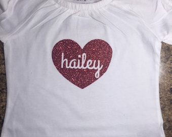 Personalized Valentine's Day Shirt