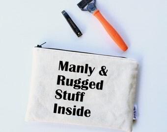 Mens Grooming Kit - Valentines Day Gifts for Men - Shaving Bag - Mens Toiletry Bag - Travel Bags for Men - Beard Care Kit