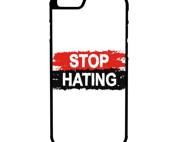 Stop Hating iPhone Galaxy Note LG HTC Hybrid Rubber Protective Case