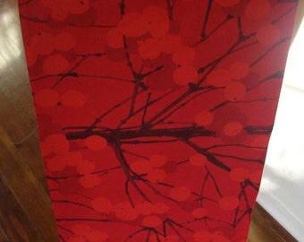 Christmas table runner from Marimekko Lumimarja cotton , fully lined, 130x45cm