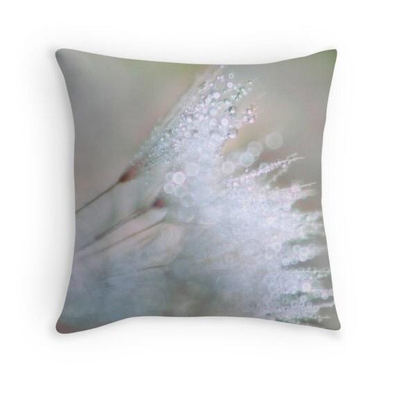Decorative Pillows Neutral : Neutral Pillows Abstract Pillows Neutral Decor Dandelion