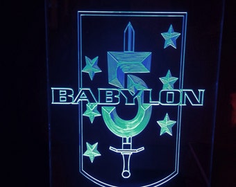babylon 5 light up sign