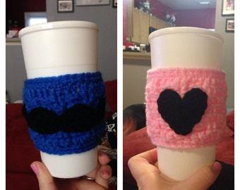 His/Hers Coffee Mug Cozies