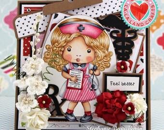 Nurse Feel better Card