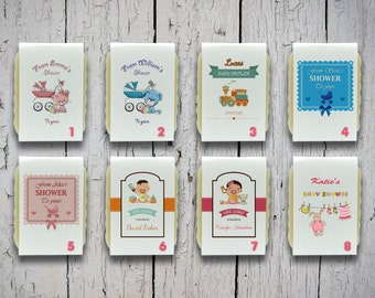 Personalized baby shower favors, New baby gift, Handmade baby shower soaps, Vegan baby shower, Custom Baby shower gift,  Shower favors