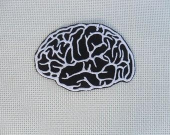 Brain Patch / Iron on Patch