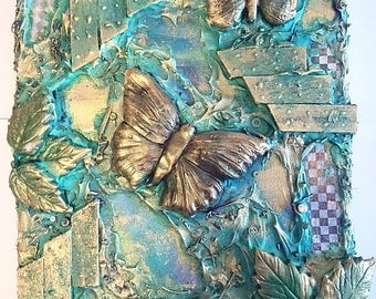 Butterfly Dance - Turquoise