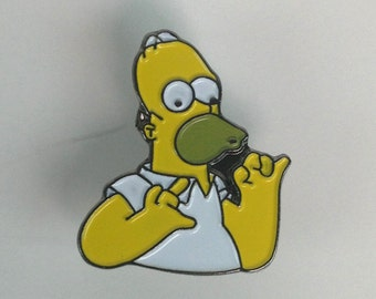 Homer Simpson Pin - UK Import