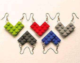 LEGO® plate earrings - jewelry