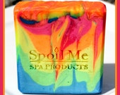 Flower Child Luxury Silk Soap/Luxury Silk Soap/Cannabis Flower Soap/Cold Processed Soap/Handmade Soap/Soap/Spa Soap/Cannabis Flower Soap