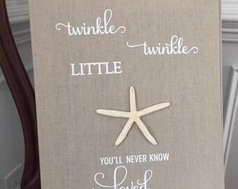 Twinkle Twinkle Little Star Art