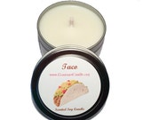 Gifts for Him-  Boyfriend Gift Ideas. Taco Candle. Food Candle. Gift for Guys - Man Gift Idea - Taco Bar - Boyfriend Birthday - Gift for Men