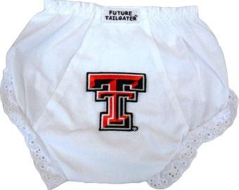 Texas Tech Red Raider Baby Diaper Cover