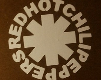 Red Hot Chili Peppers Vinyl Sticker