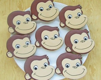 Curious Monkey Cookies