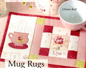 Love to Sew Mug Rugs by Christa Rolf