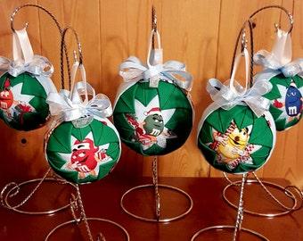 M & M Christmas Ornaments