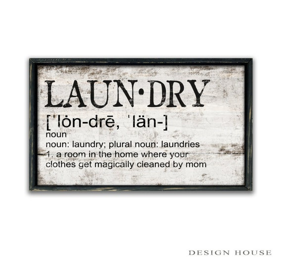 Funny Laundry Signs Magnificent Laundry Definition Mom Wood Sign Funny Mom Quotes Design Ideas