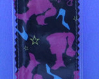 Fabric Bookmark Made From Ponytail Barbie Doll Fabric