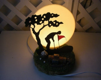 3D  GOLF bar light , night light,table light
