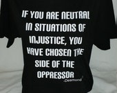 The Oppressed or the Oppressor, Which side are you on?