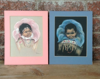 Baby Decor, Inuit Babies,, Dorothy Francis, Aborignal Child, Native American Art, Baby Picture, Beautiful Pictures, Baby Decor,Nursery Decor