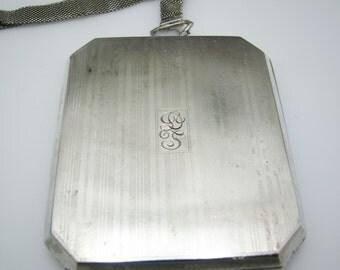 Vintage Sterling Silver Engraved Wristlet Wallet