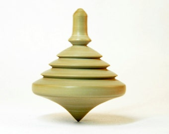 Spinning top toy children, adults, a souvenir from a tree, wooden toy made of natural materials handmade, woodturning