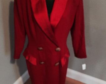 Bergdorf goodman red NWT size 12 dress