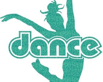 Dance Jump Iron On Decal