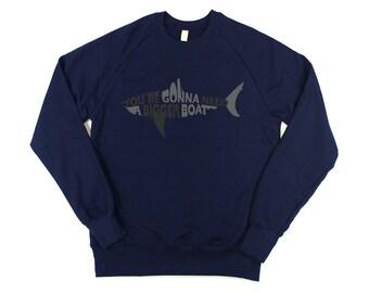 Jaws: Bigger Boat Mens Sweatshirt